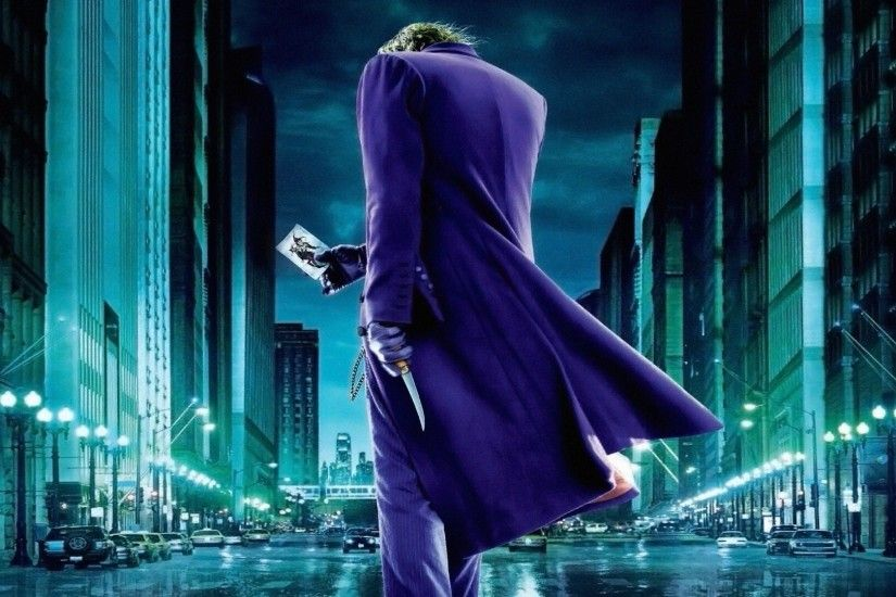 The Joker The Dark Knight HD desktop wallpaper : High Definition .