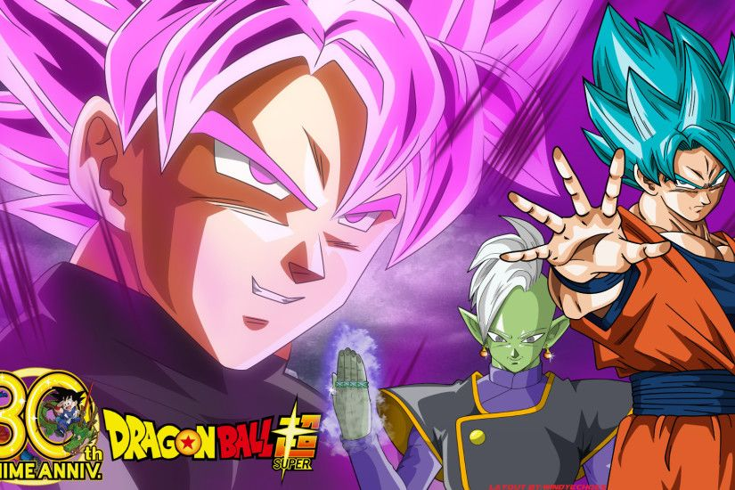 ... Dragon Ball Super - Goku Black Zamasu Wallpaper by WindyEchoes