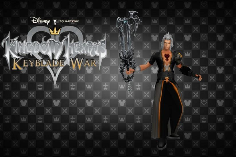 Kingdom Hearts Keyblade War Custom Wallpaper 06 by todsen19