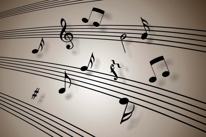 music notes wallpaper 2750x1790 720p