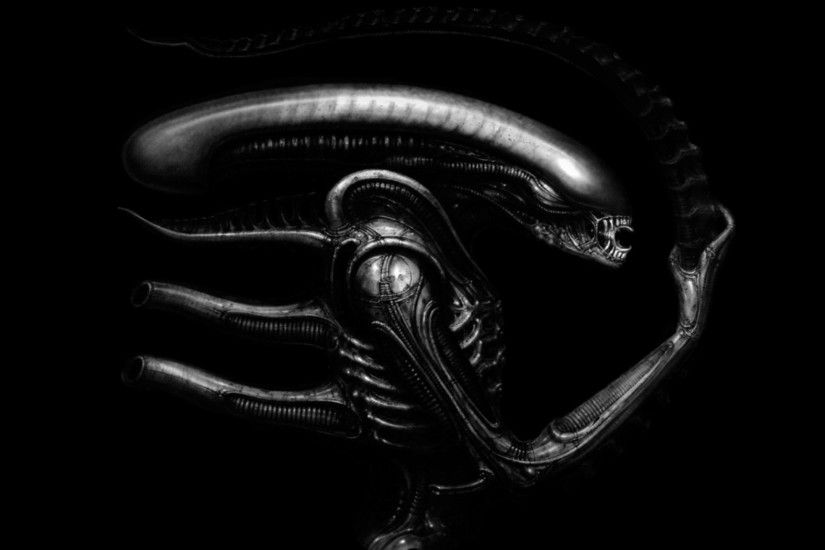 H R Giger Art Artwork Dark Evil Artistic Horror Fantasy Sci-fi Alien Aliens  Xenomorph Wallpaper At Dark Wallpapers