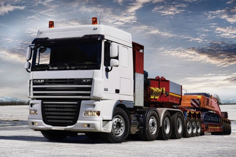 Daf XF Truck   1080p HD Wallpaper Widescreen