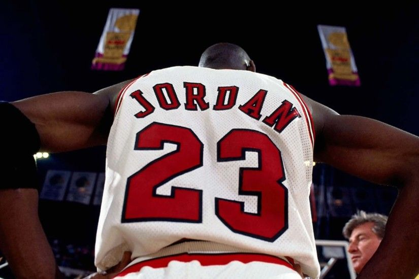 2560x1440 Wallpaper michael jordan, nba, basketball, jersey, logo