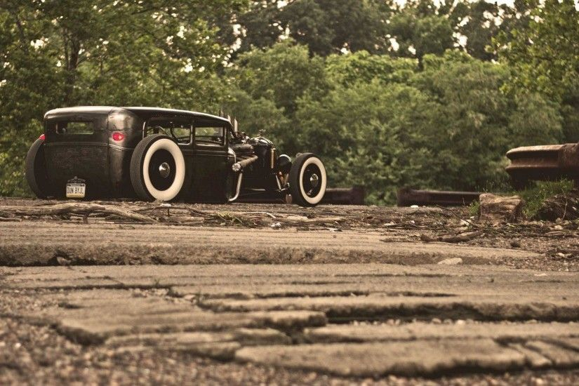 Wallpapers ford, model a, rat, rod, ford - car pictures and photos