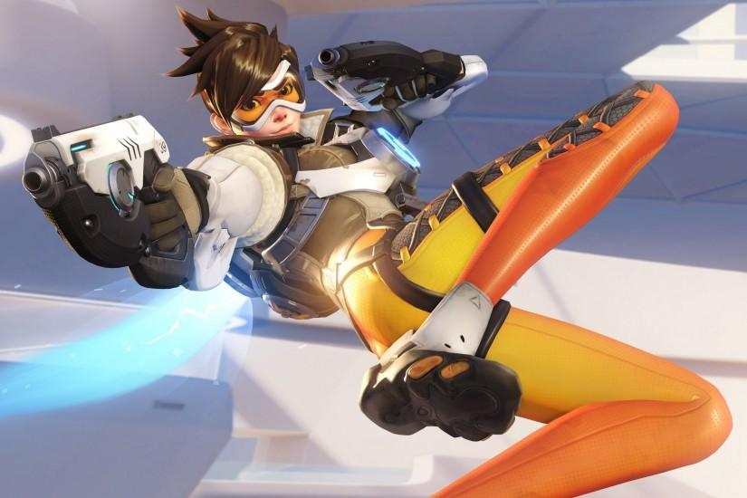 overwatch tracer wallpaper 3840x2160 for windows 7