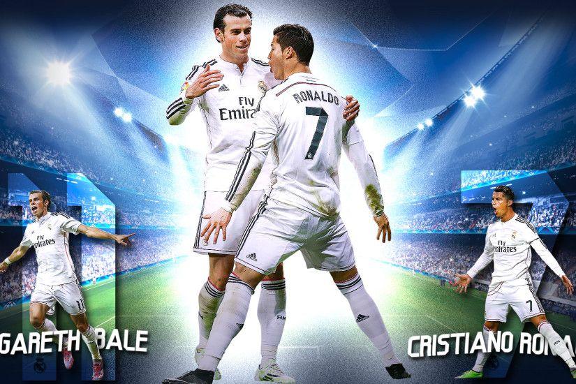 Gareth Bale And Cristiano Ronaldo By Szwejzi