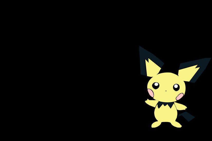 New Pichu Pokemon Wallpaper Wallpaper