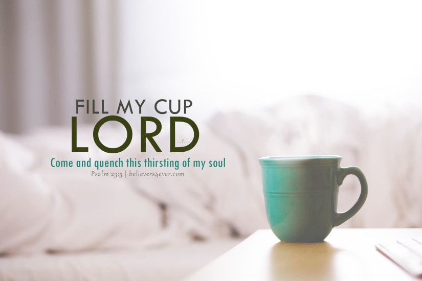 Psalm 23:5. Click here to download this desktop wallpaper