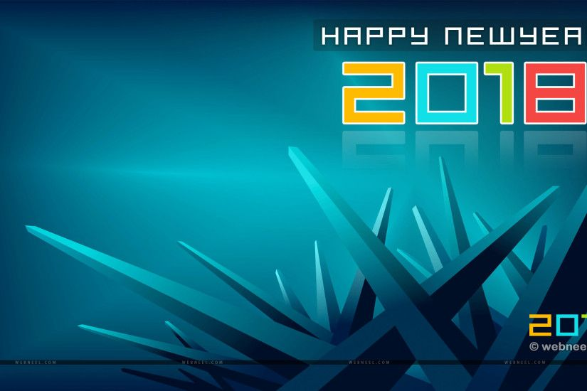 2018 New year wallpaper new year wallpaper abstract ...