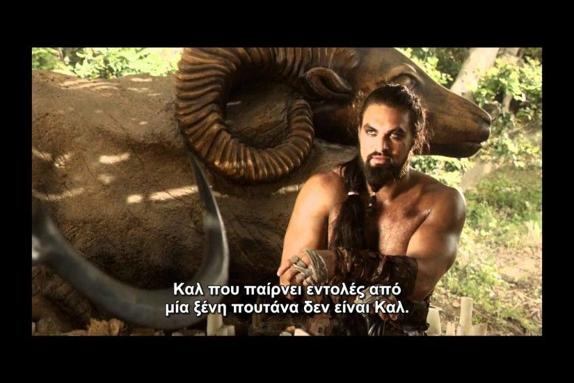 Khal Drogo vs Mago.wmv greek subs HD