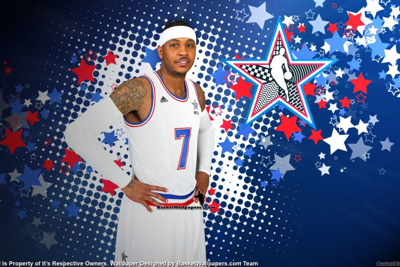 Carmelo Anthony 2015 NBA All-Star Wallpaper
