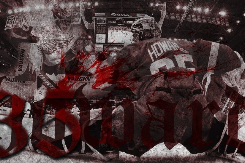Hockey detroit red wings goalie jimmy howard g wallpaper | 1920x1080 |  128683 | WallpaperUP