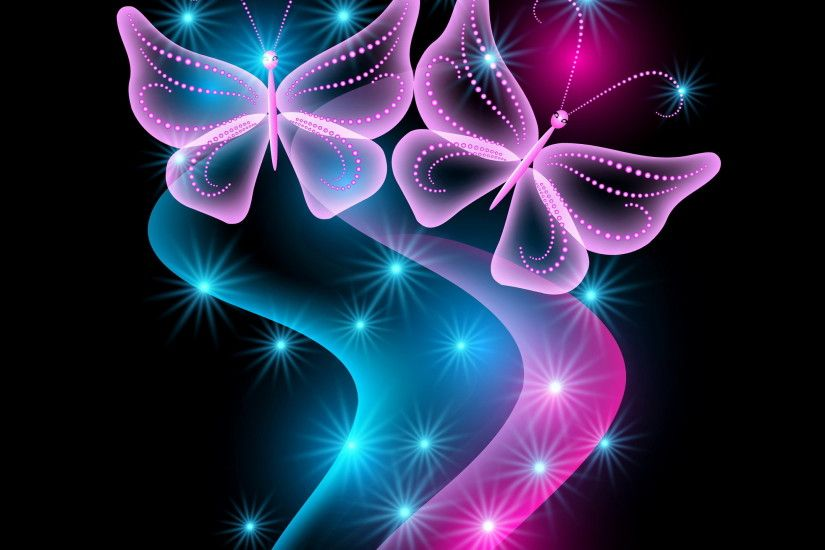 free butterfly wallpaper for kindle fire hd | ... , pink, sparkle,