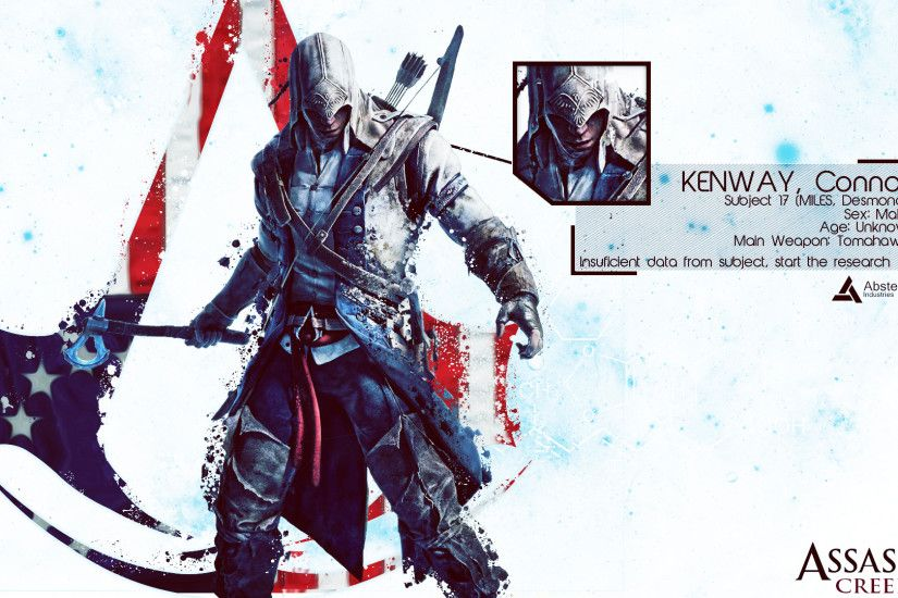 Assassin's Creed III Connor Wallpaper by Yoshi612 Assassin's Creed III  Connor Wallpaper by Yoshi612