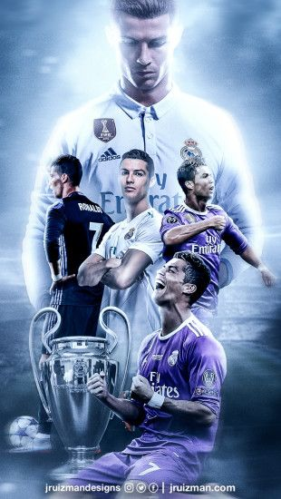 Wallpaper Cristiano Ronaldo Real Madrid