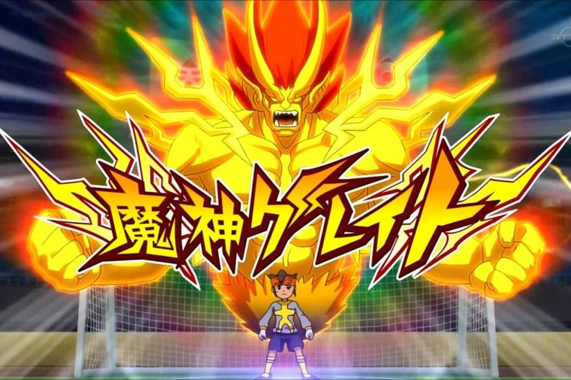 Inazuma Eleven Go 2 Chrono Stone - Great The Hand - Majin The Hand HD