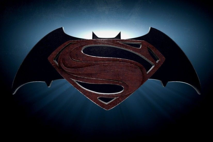 Batman Vs Superman Logo Wallpaper | Wallpaper Download