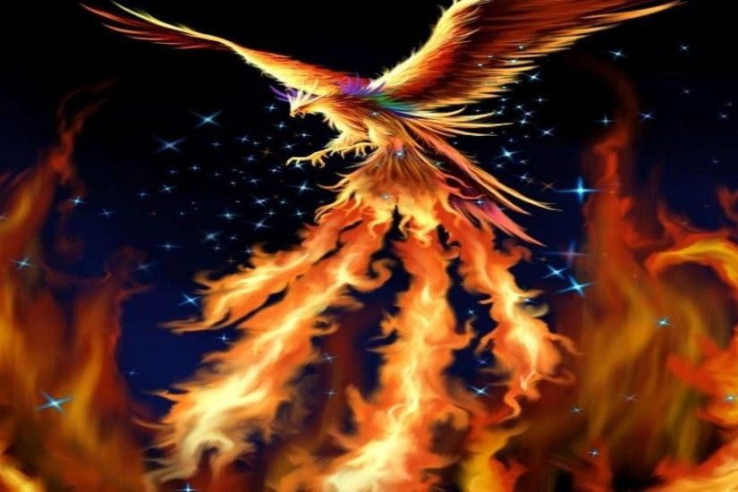 Fantasy-fire-bird-phoenix-wallpaper-HD-001