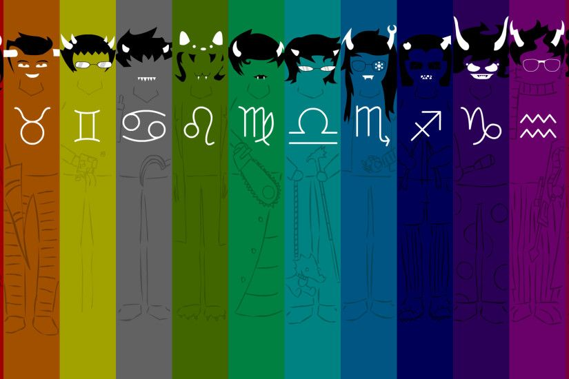 Homestuck Trolls Wallpaper by adrius15 Homestuck Trolls Wallpaper by  adrius15
