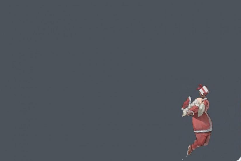 Just Do It Santa Claus Wallpaper