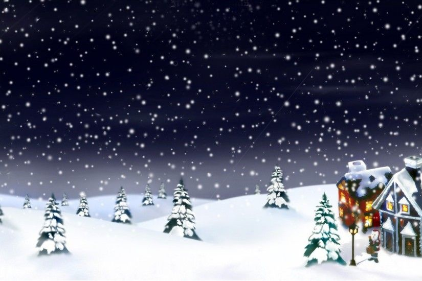 2015 Christmas snow background