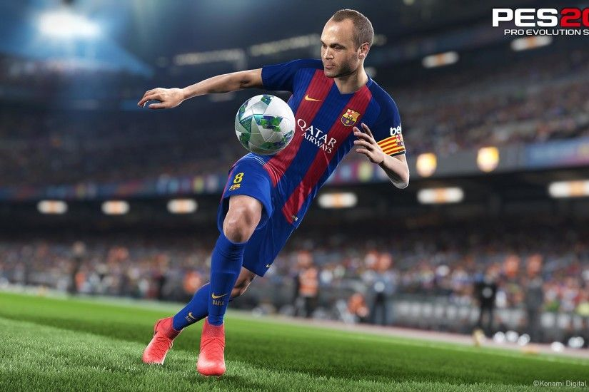 Konami announces release date, early details for Pro Evolution Soccer 2018