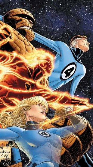 ... Fantastic Four Wallpapers - Wallpaper Cave ...