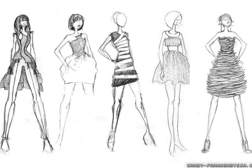 Wallpaper: Good Fashion Sketches Resolution: 1024x768 | 1280x1024 |  1600x1200. Widescreen Res: 1440x900 | 1680x1050 | 1920x1200