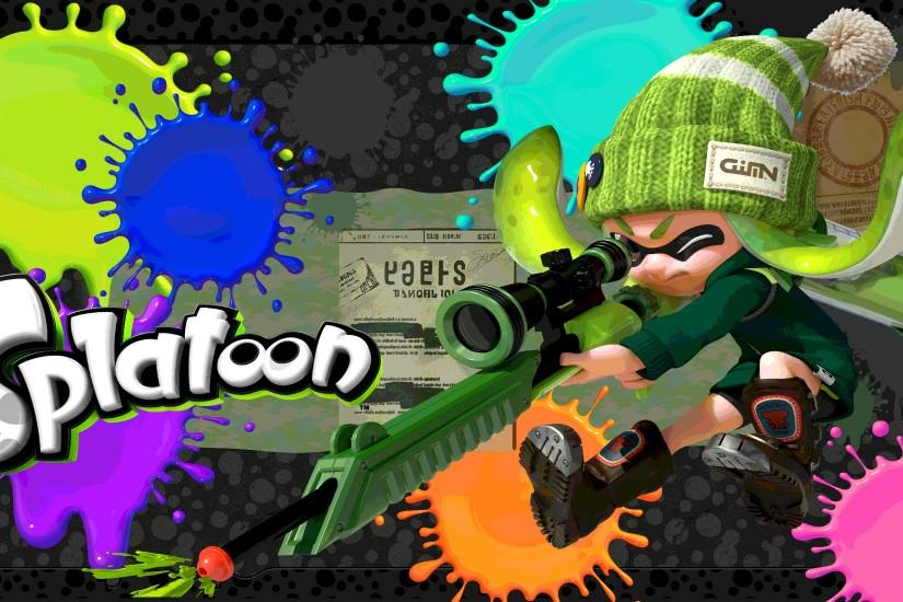 popular splatoon wallpaper 2000x1100