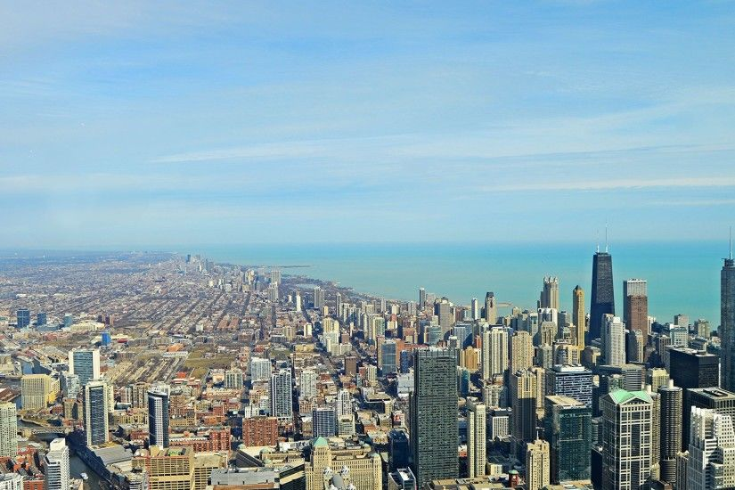 Chicago Clear Day Wallpaper