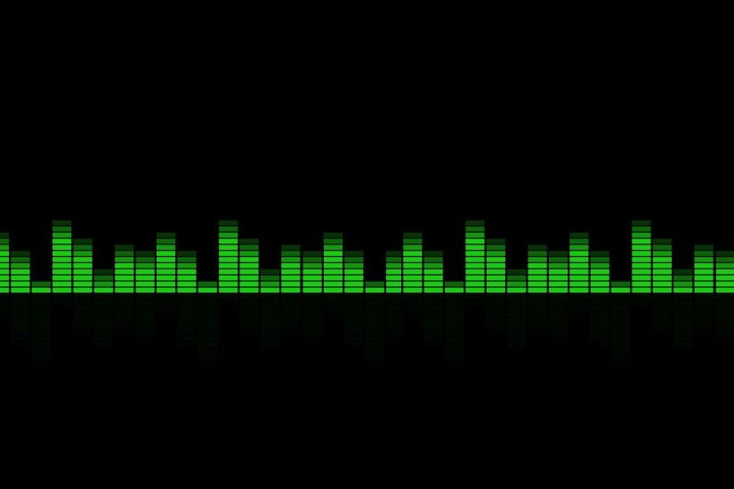 Equalizer, Music, Black Background wallpaper thumb