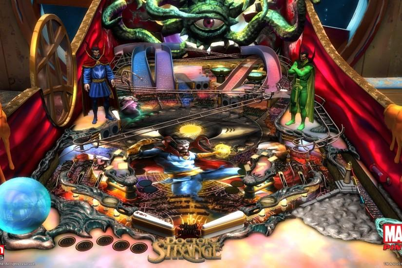 Dr. Strange table comes to Marvel Pinball this December
