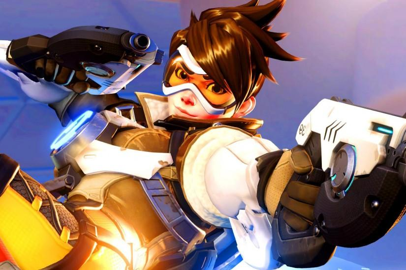 overwatch tracer wallpaper 1920x1080 mobile