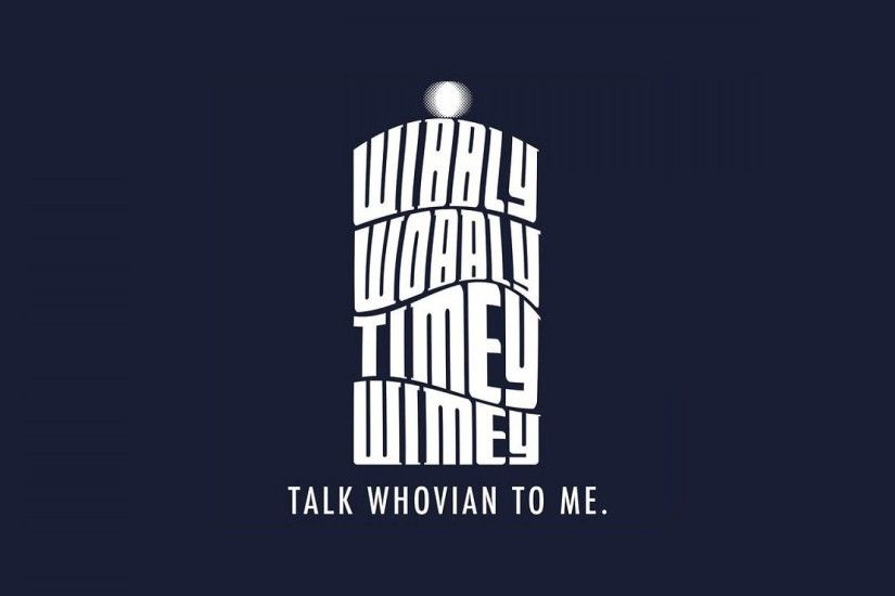 Minimalistic text tardis typography doctor who whovian wallpaper - would  also make a great t-shirt :)