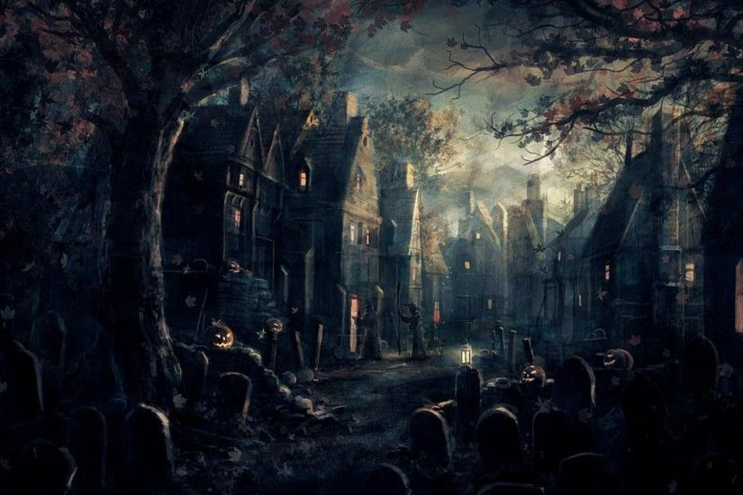 Top 10 Impressive Halloween Desktop Wallpapers in 2014 | Frivmaz.