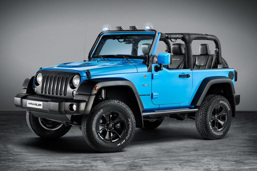 2017 Jeep Wrangler Rubicon Moparone Pack 4K