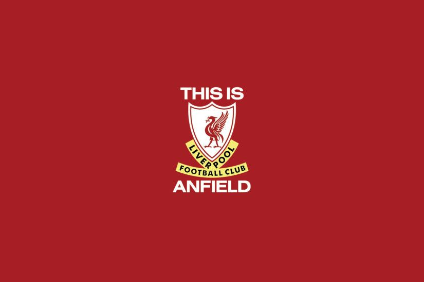 This is Anfield Wallpaper ...