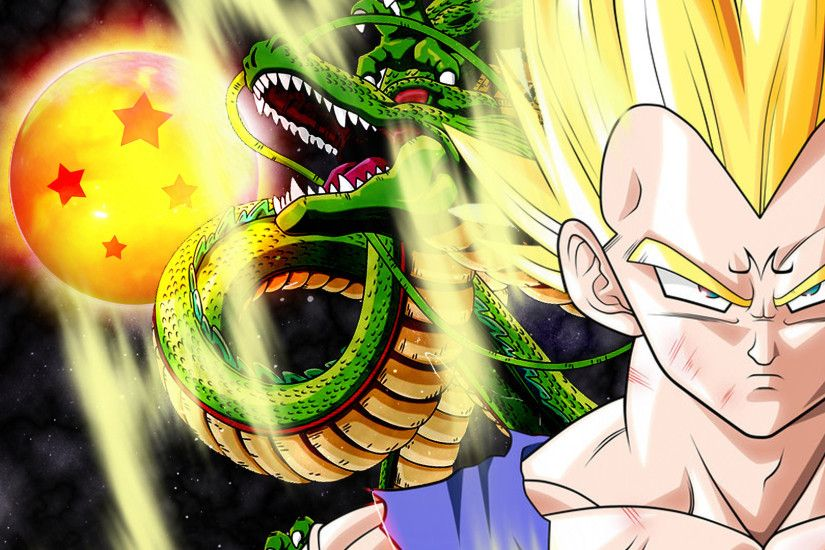 Vegeta and Shenron