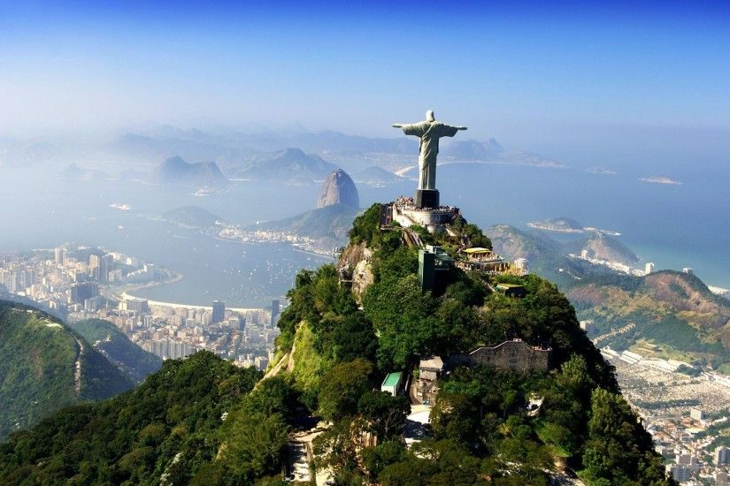 Brazil Christ the Redeemer HD Wallpaper