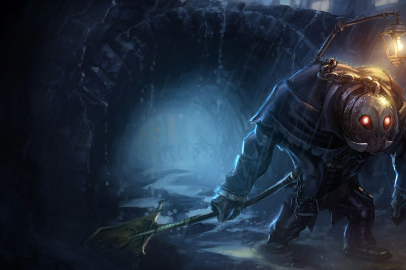 Undertaker Yorick Splash Art Old League of Legends Artwork Wallpaper lol