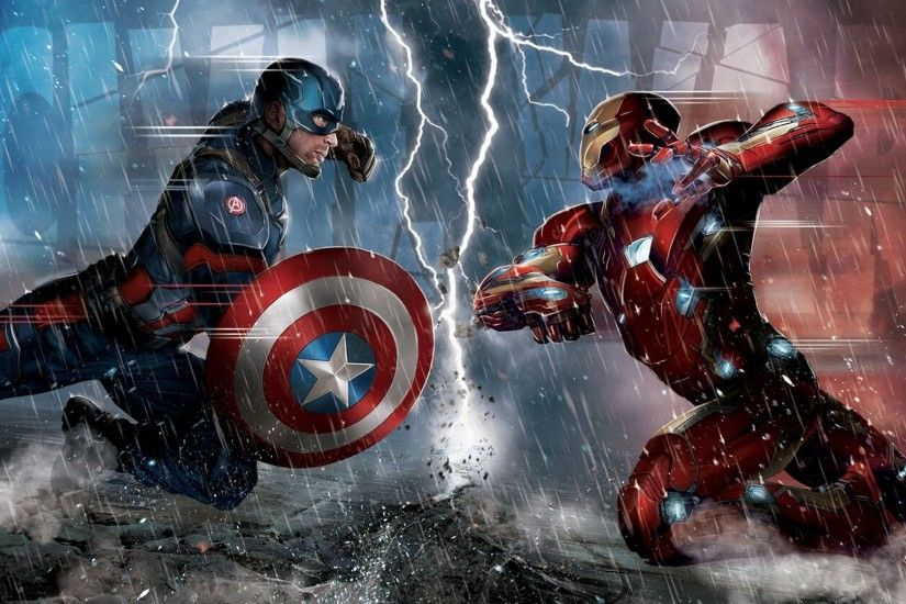 Iron Man and Captain America Civil War K Wallpaper Free K 1024×640 Captain  America Civil War Wallpapers (22 Wallpapers) | Adorable Wallpapers |  Pinterest ...
