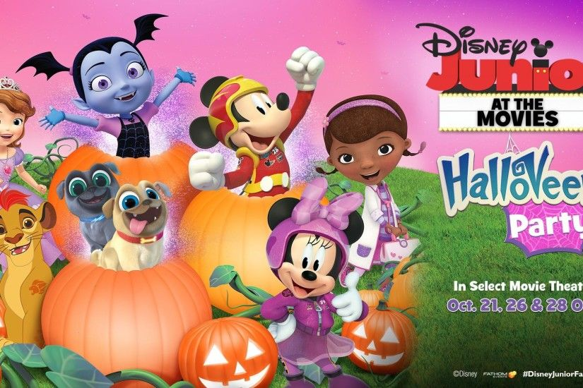 Kids and parents are invited to dress up, sing, dance, play and celebrate  the most spooktacular time of the year with a special Disney Junior-themed  ...