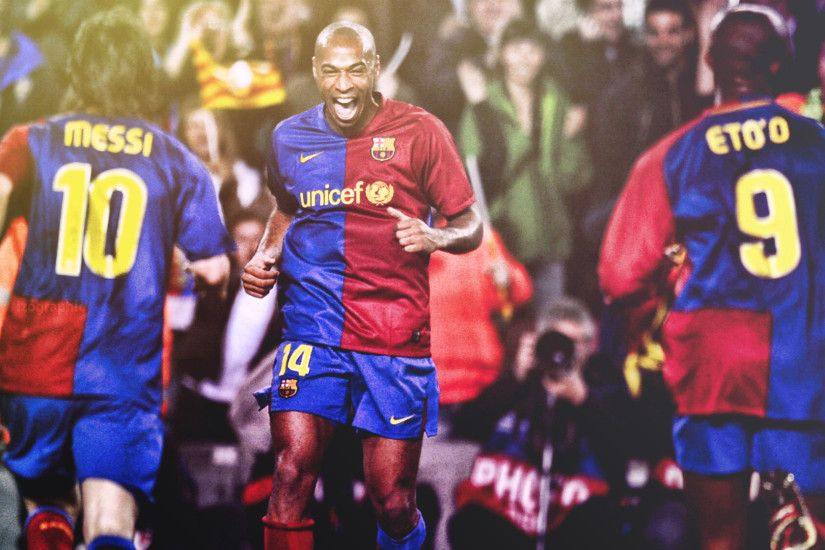 ... Thierry Henry Barcelona Effect Wallpaper HD! by izographic
