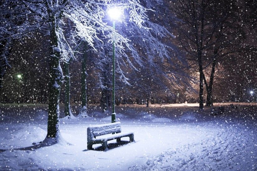 Winter Night Wallpaper High Quality