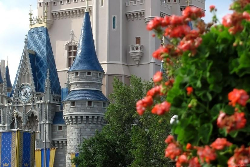 Cinderella Castle Desktop Wallpaper