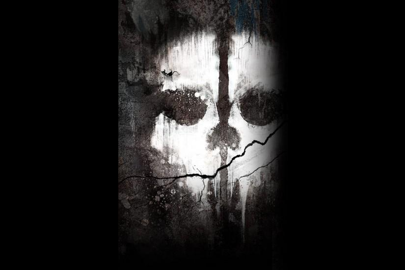 Of Duty Ghosts ghost dark halloween scary skull wallpaper background .