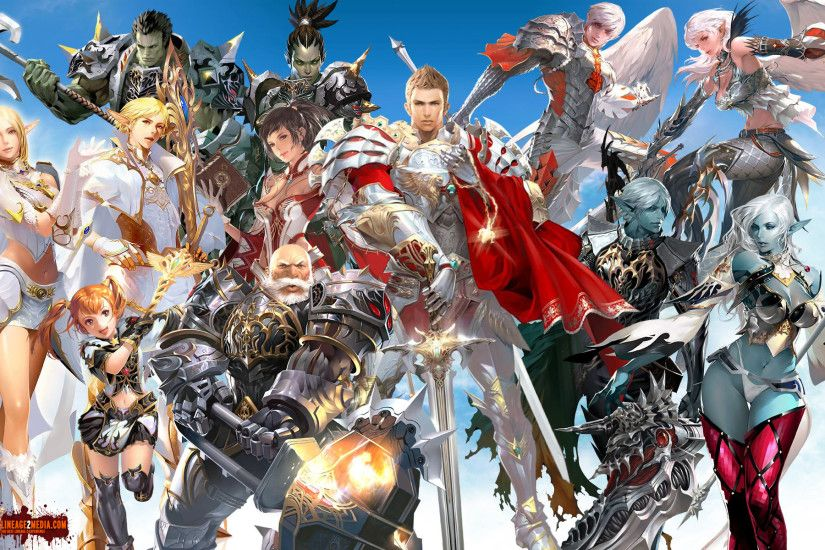 Video Game - Lineage II Lineage Wallpaper