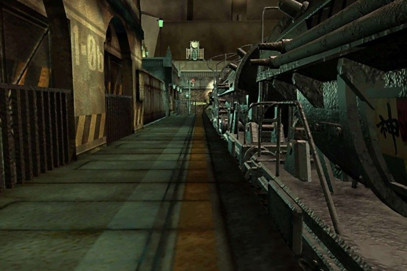 FF7 PSX Pre rendered Backgrounds To Replacing The Ones Of FF7 PC .