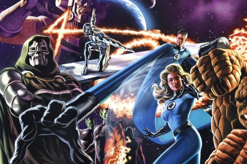 Fantastic Four 4k Ultra HD Wallpaper and Background | 4151x2793 .
