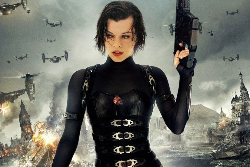 HD Wallpaper | Background ID:325137. 1920x1176 Movie Resident Evil:  Retribution